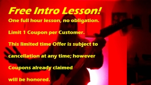 Free Lesson Coupon 1